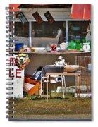 Yard Sale Spiral Notebook