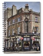 Ye Old Rose And Crown Spiral Notebook