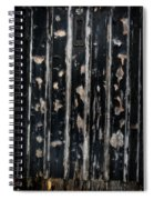Ye Olde Black Door Spiral Notebook