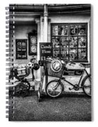 Ye Olde Sweet Shoppe Mono Spiral Notebook