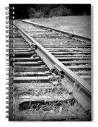 Ye Olde Tracks Spiral Notebook