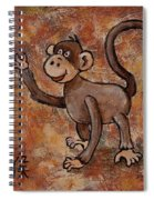 Year Of The Monkey Spiral Notebook
