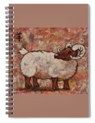 Year Of The Ram  Spiral Notebook