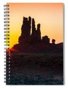 Yei-bi-chei Rays Spiral Notebook