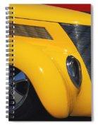Yellow '37 Spiral Notebook