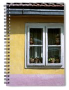 Yellow And Pink Facade. Belgrade. Serbia Spiral Notebook