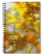 Yellow Autumn Spiral Notebook