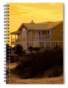 Yellow Beauty At Isle Of Palms Spiral Notebook