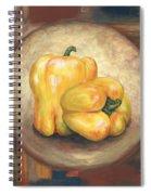 Yellow Bell Peppers Spiral Notebook