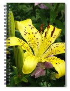 Yellow Blossom Spiral Notebook