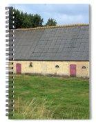 Yellow Brick Barn Spiral Notebook