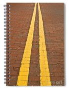 Yellow Brick Road Spiral Notebook