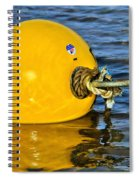 Yellow Buoy Spiral Notebook