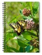 Yellow Butterflies Spiral Notebook