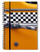 Yellow Cab - 3 Spiral Notebook
