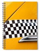 Yellow Cab - 4 Spiral Notebook