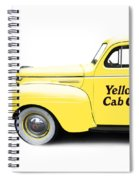 Yellow Cab Square Spiral Notebook
