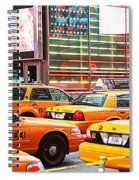 Yellow Cabs Spiral Notebook