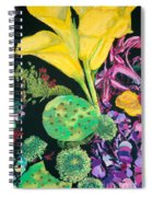 Yellow Cala Lilies Spiral Notebook