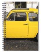 Yellow Car Spiral Notebook