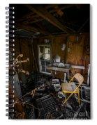 Yellow Chair Spiral Notebook