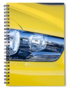 Yellow Charger 1520 Spiral Notebook