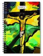 Yellow Christ  After Gauguin Spiral Notebook
