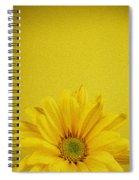 Yellow Chrysanthemum Spiral Notebook