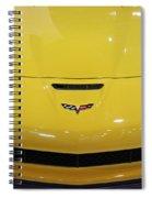 Yellow Corvette Spiral Notebook