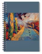 Yellow Cypress Spiral Notebook