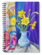 Yellow Daffodils Spiral Notebook