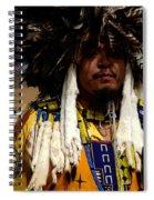Yellow Dancer Spiral Notebook