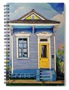 Yellow Door Shotgun  Spiral Notebook