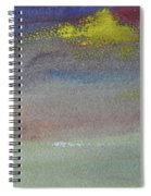 Yellow Emerges Spiral Notebook