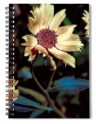 Yellow Flower Viii Spiral Notebook