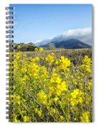Yellow Foreground Spiral Notebook