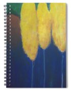 Yellow Forest Spiral Notebook