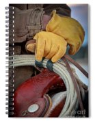 Yellow Gloves Spiral Notebook