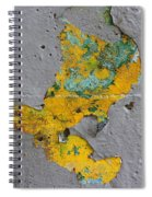 Yellow Graffiti Spiral Notebook