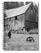 Yellow Jacket Mine Spiral Notebook
