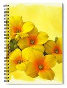 Yellow Kalanchoe - Succulent Sunshine Spiral Notebook