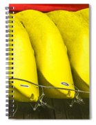 Yellow Kayaks Spiral Notebook