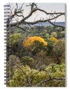 Yellow Leaves Spiral Notebook