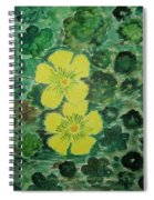 Yellow Magic  Spiral Notebook
