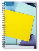 Yellow Memo Spiral Notebook