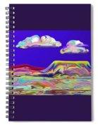 Yellow Mesa Spiral Notebook