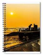 Yellow Morning Spiral Notebook