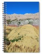 Yellow Mounds Badlands National Park Spiral Notebook