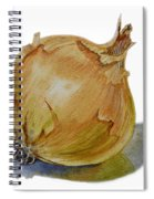 Yellow Onion Spiral Notebook