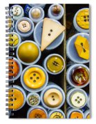 Yellow Palate Spiral Notebook